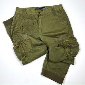 Green RocaWear Cargo Pants - 36